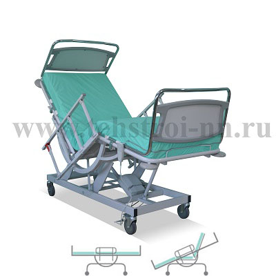 The functional bed КФ-3 «ТЕХСТРОЙ 1» (КФТС 03.01.01.00)