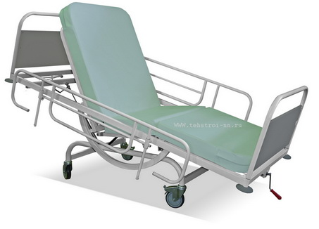 The functional bed КФ-3 «ТЕХСТРОЙ 3» (КФТС 03.02.00.01 for the rehabilitation and disabled people)