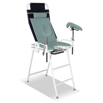 The armchair for professional medical examinations КПО-ТС 01 (folding, exit)