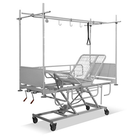 The four-section functional bed КФ – «Техстрой 4» ( КФТ – 3 ВВГ/Э with the traction frame)