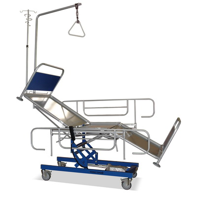 "The Functional bed КФ3 – "" Tehstroi 2"" (reanimation bed, height regulation is by electromechanical drive)"