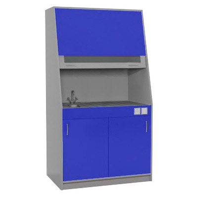 An exhaust laboratory cupboard ТС 02.01 (chipboard)